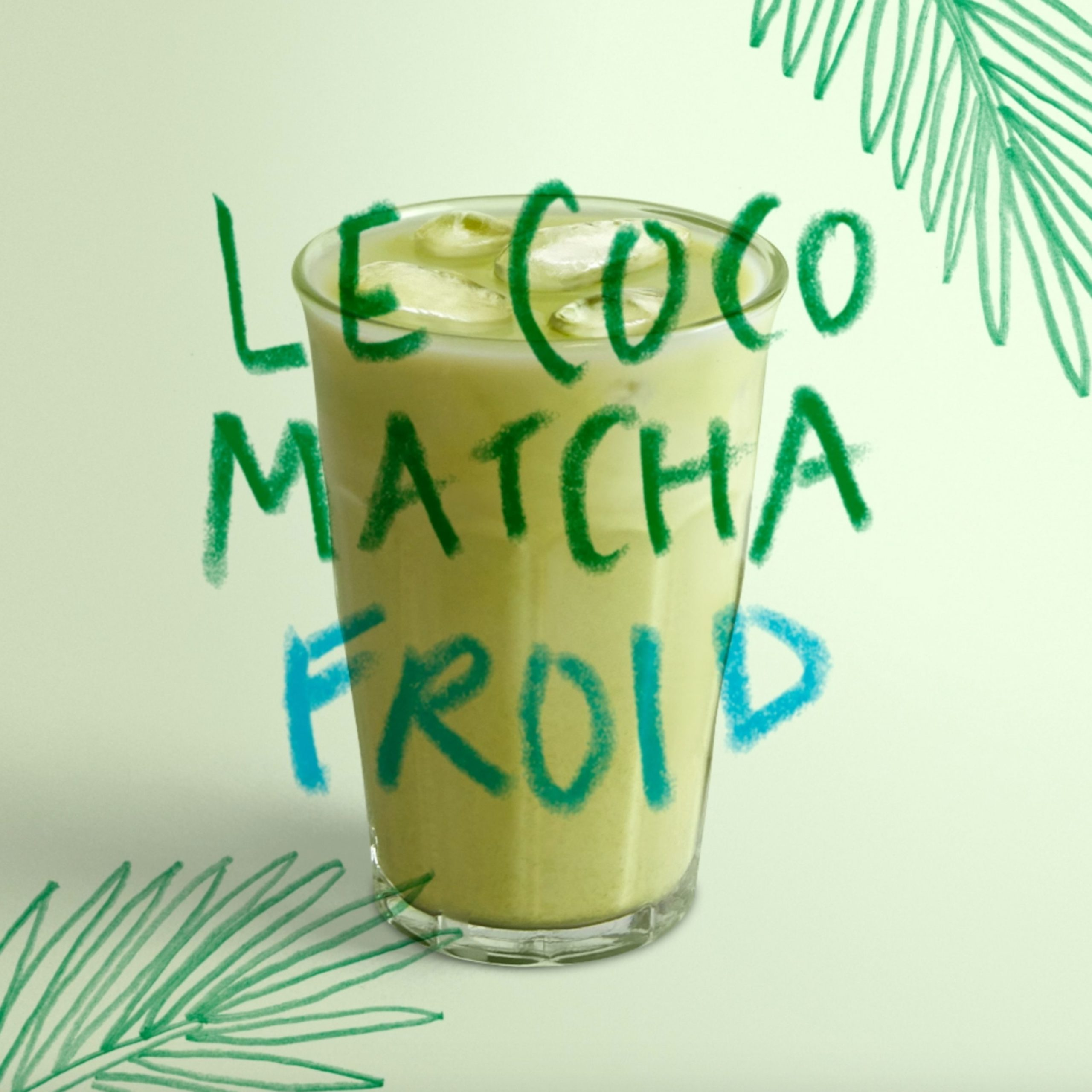 Le Coco Matcha froid archi froid