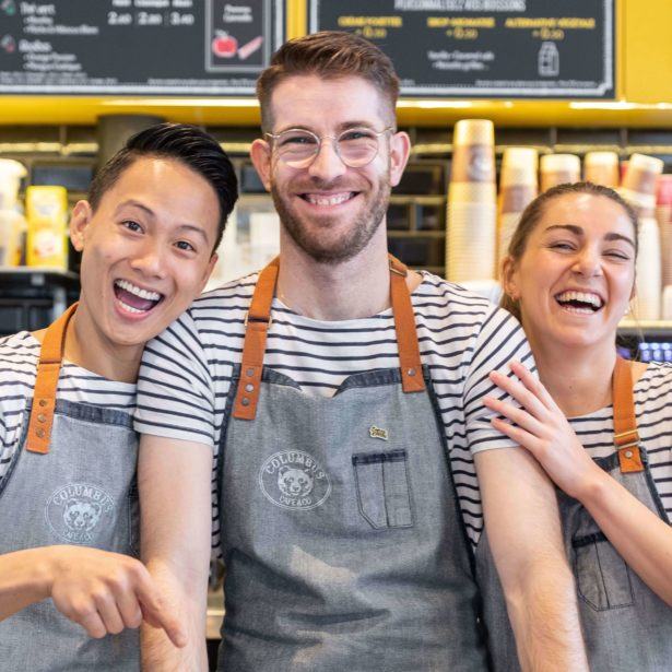 Nos baristas d'amour !