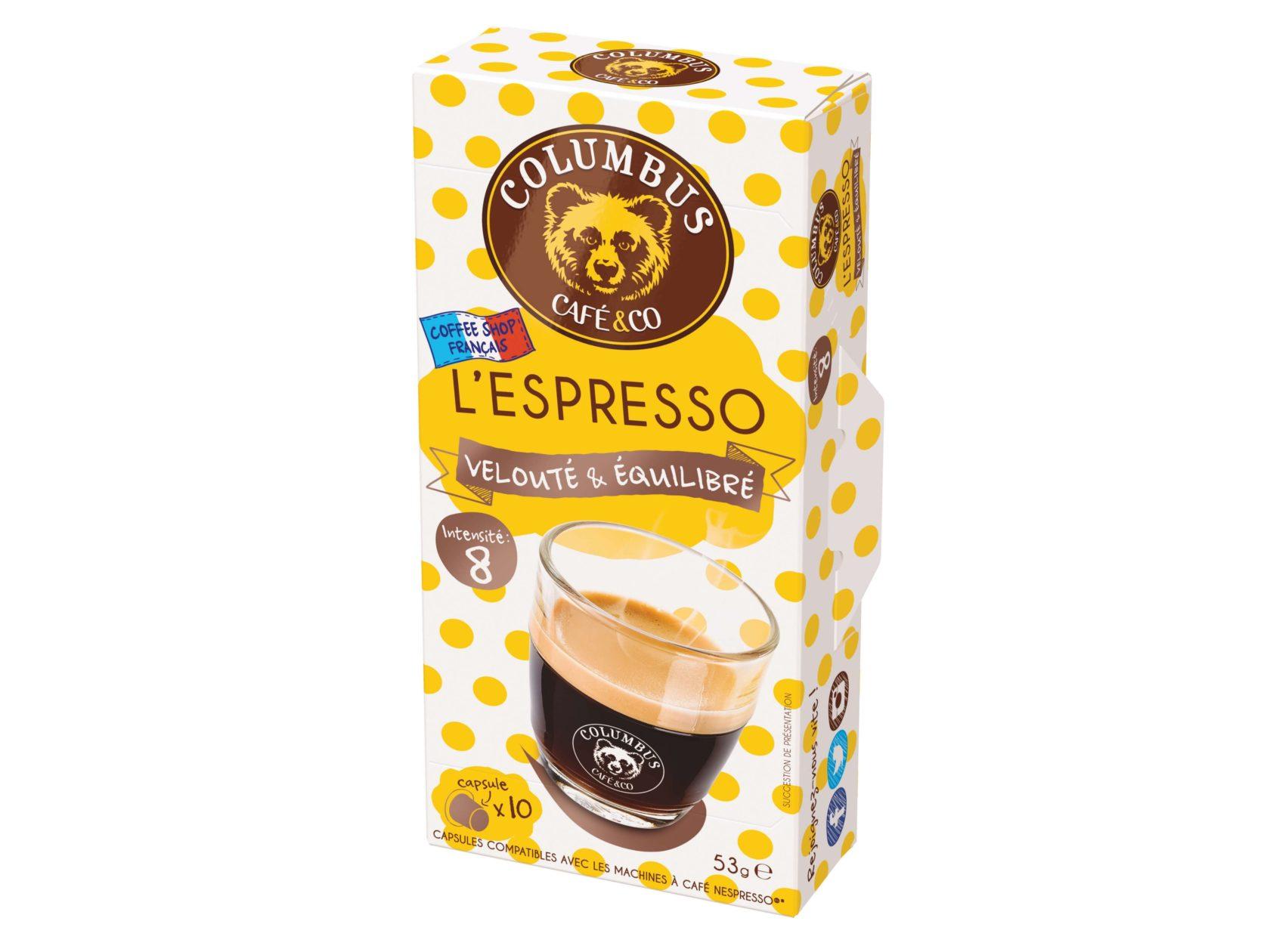 Le lot de 15  boîtes Espresso Barista Blend® + 1 boîte OFFERTE Espresso Caramel beurre salé - Nespresso®
