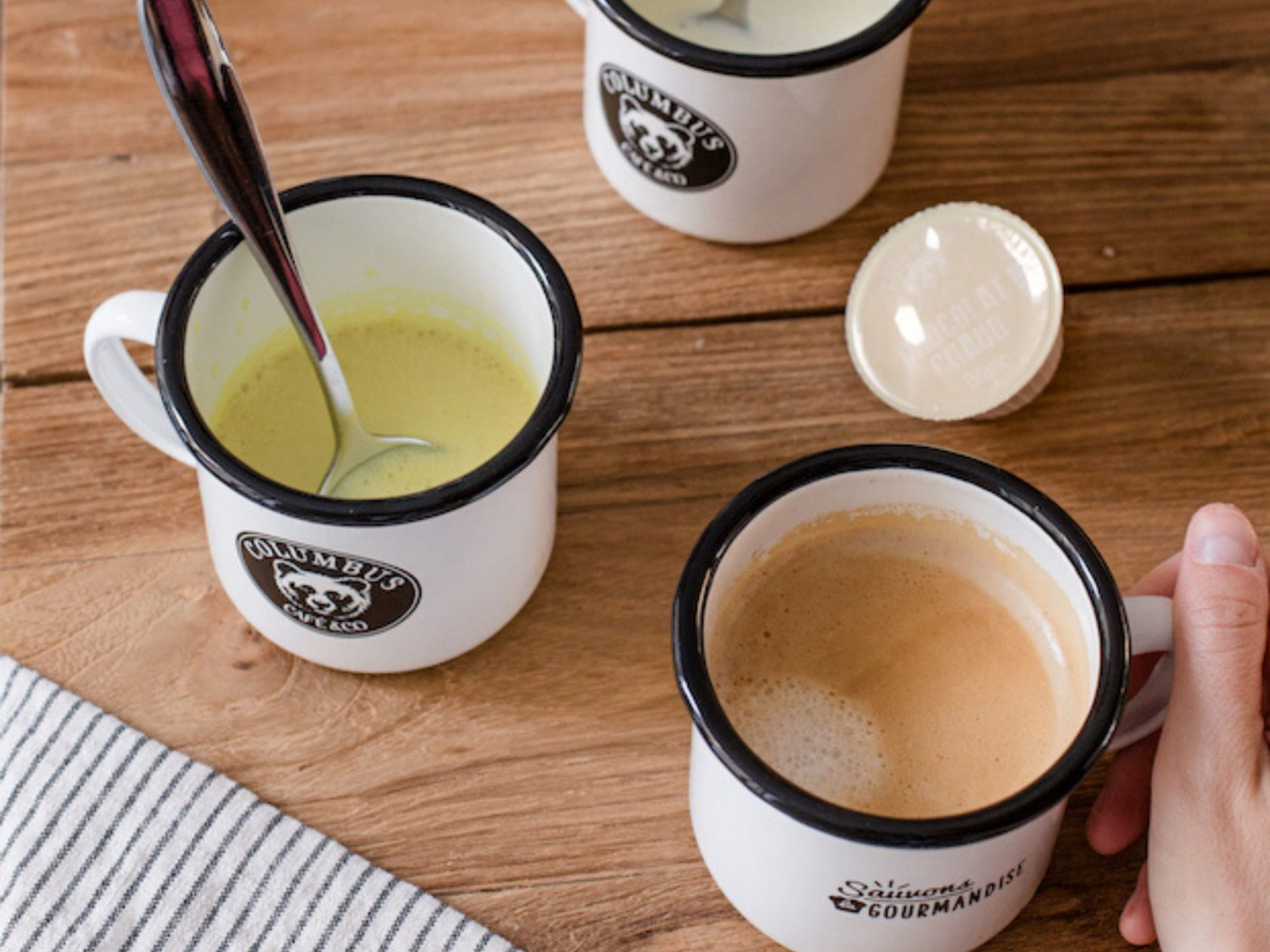 Choco Hazelnut Flavour Café Latte Dolce Gusto® x 16