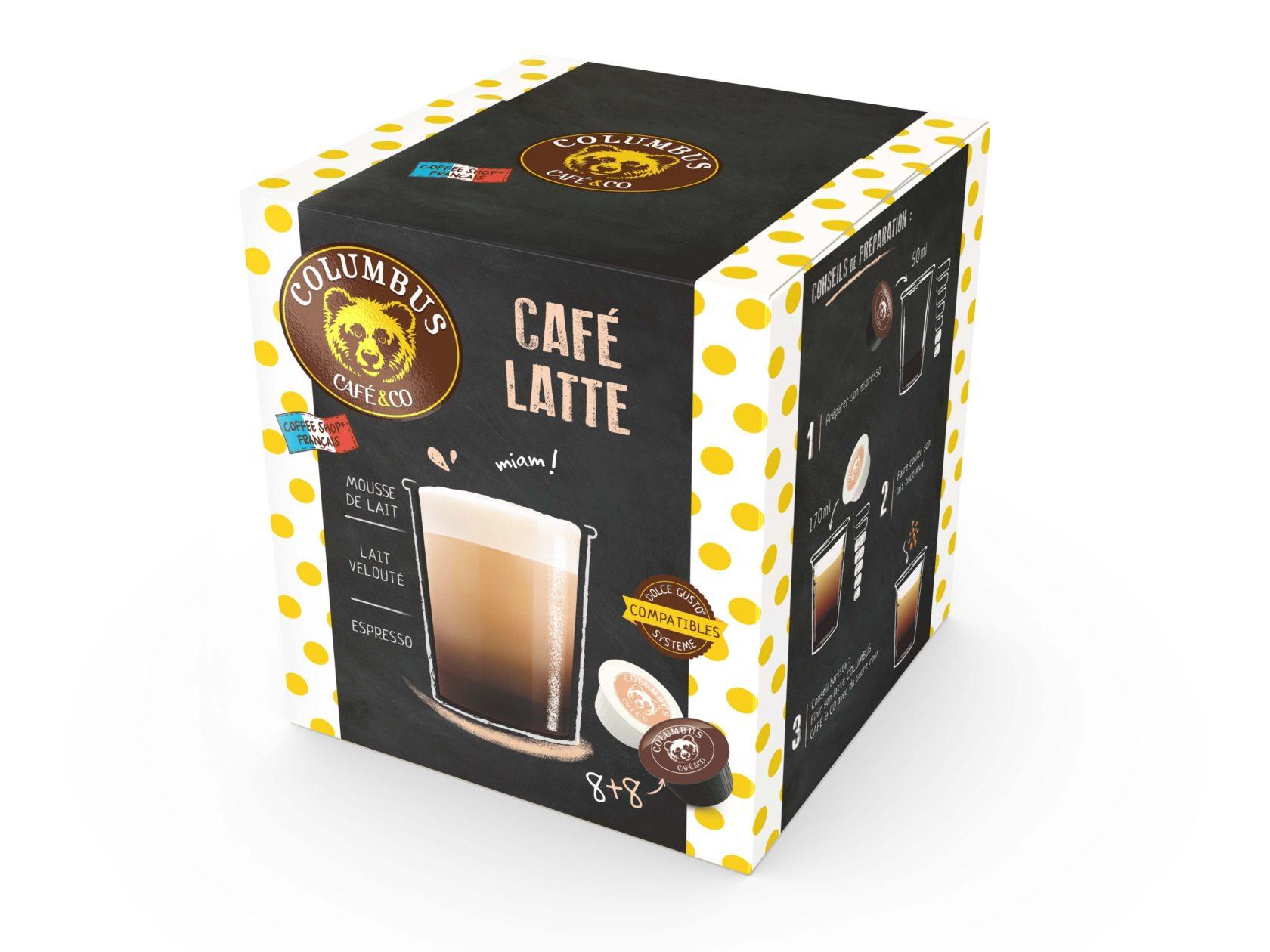 Café Latte Dolce Gusto® x 16