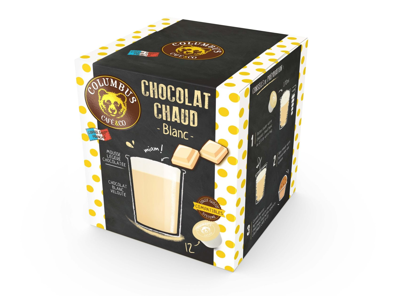 White Hot Chocolate Dolce Gusto® x 12