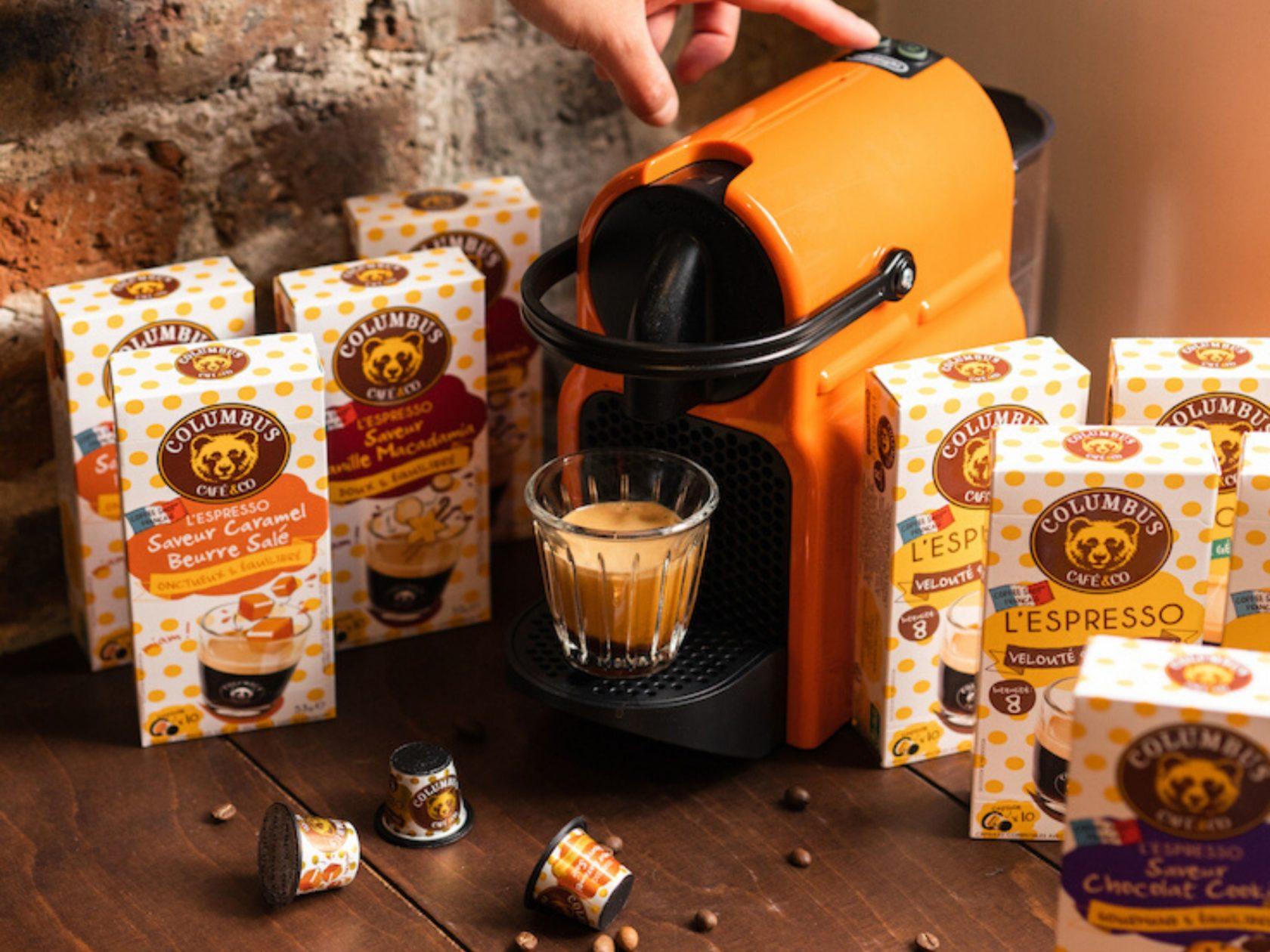 L'Espresso saveur Caramel beurre salé Nespresso® x 10