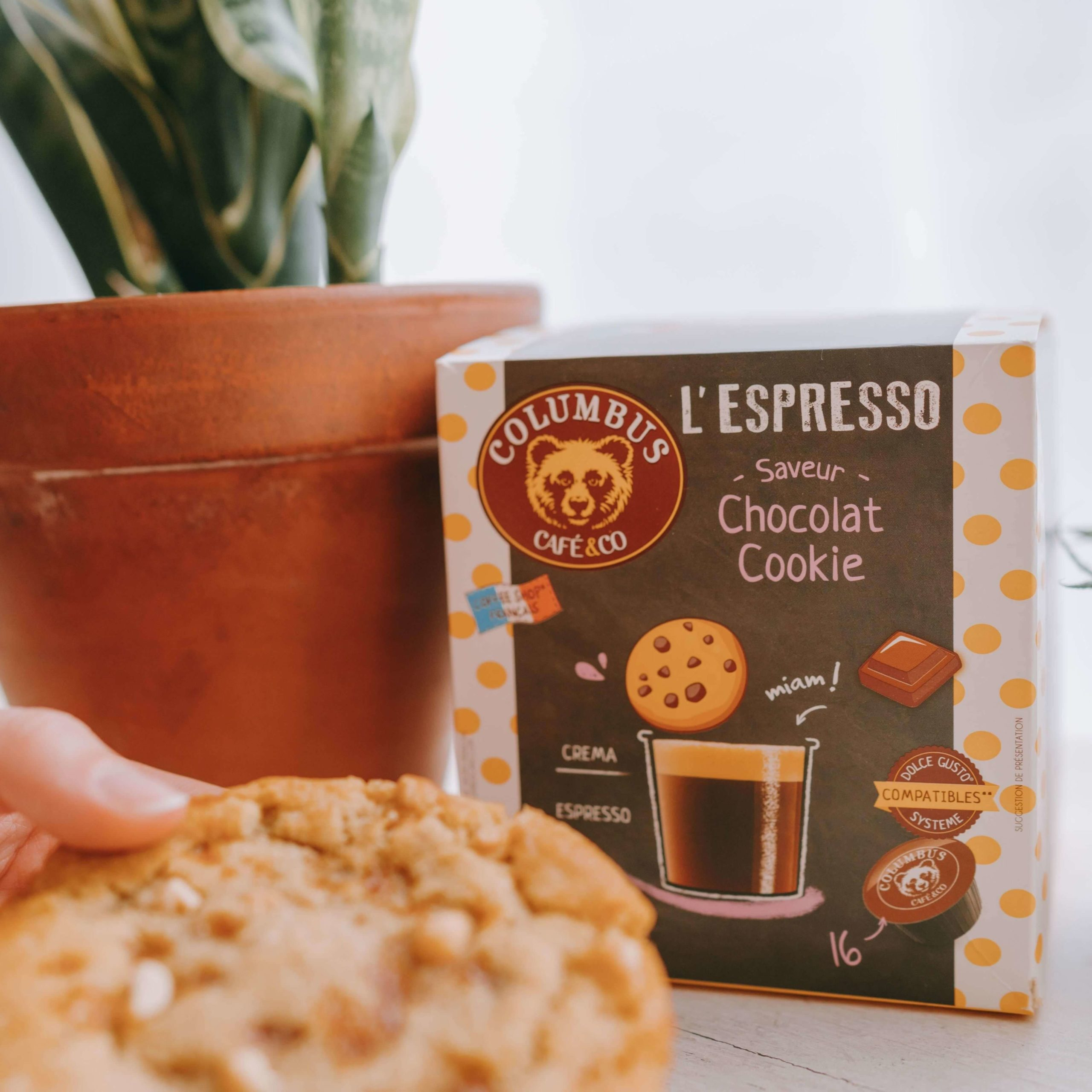 L'Espresso saveur Chocolat Cookie Dolce Gusto® x 16