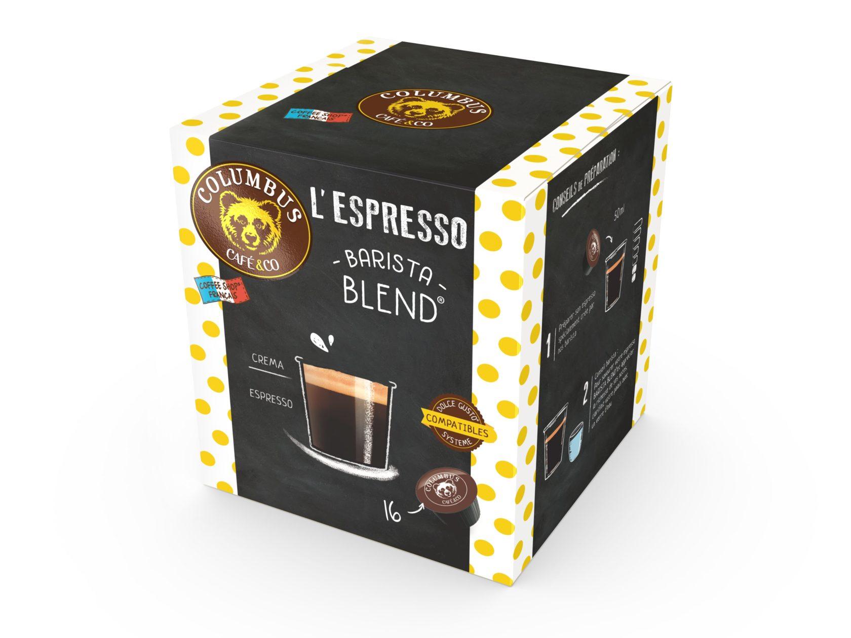 The Espresso Barista Blend® Dolce Gusto® x 16