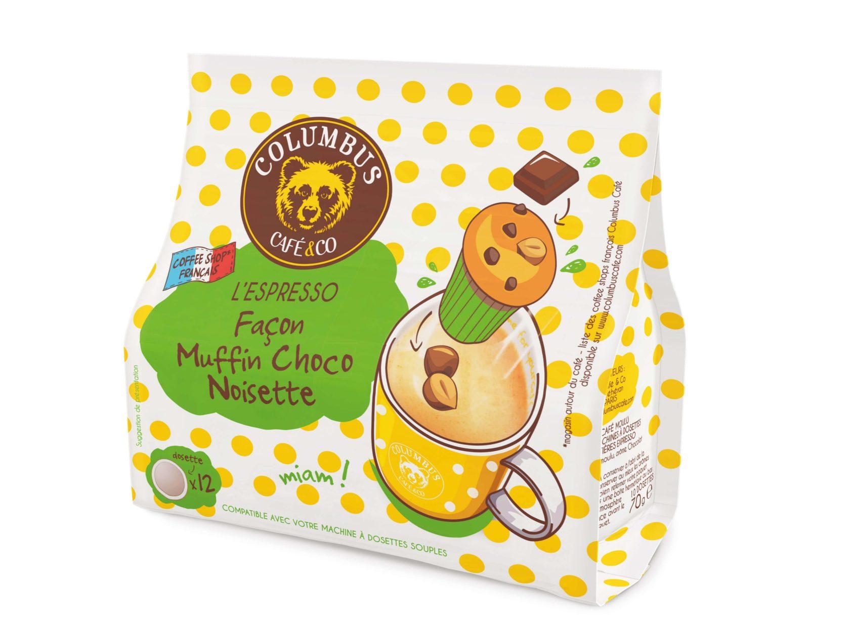 L'Espresso façon Muffin Choco noisette Senseo® x 12