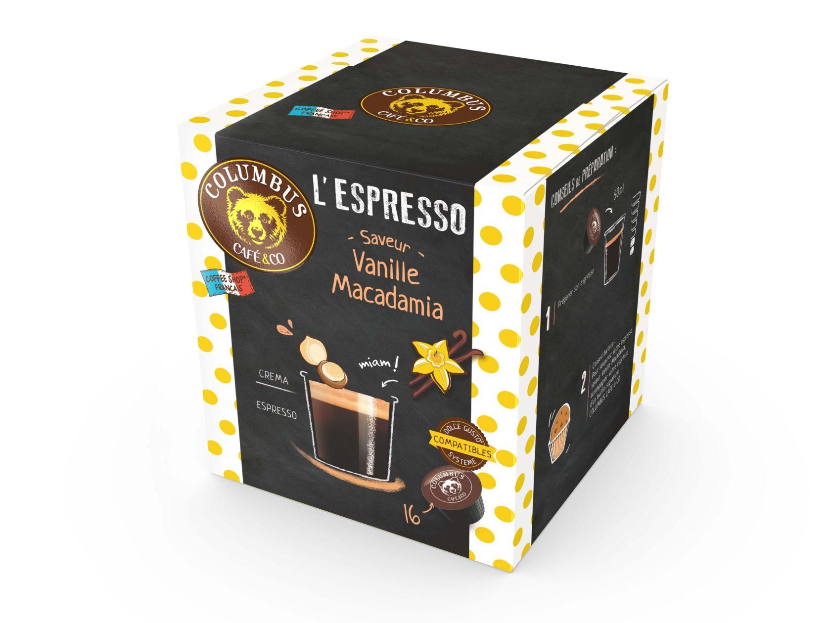 L'Espresso saveur Vanille Macadmia Dolce Gusto® x 16