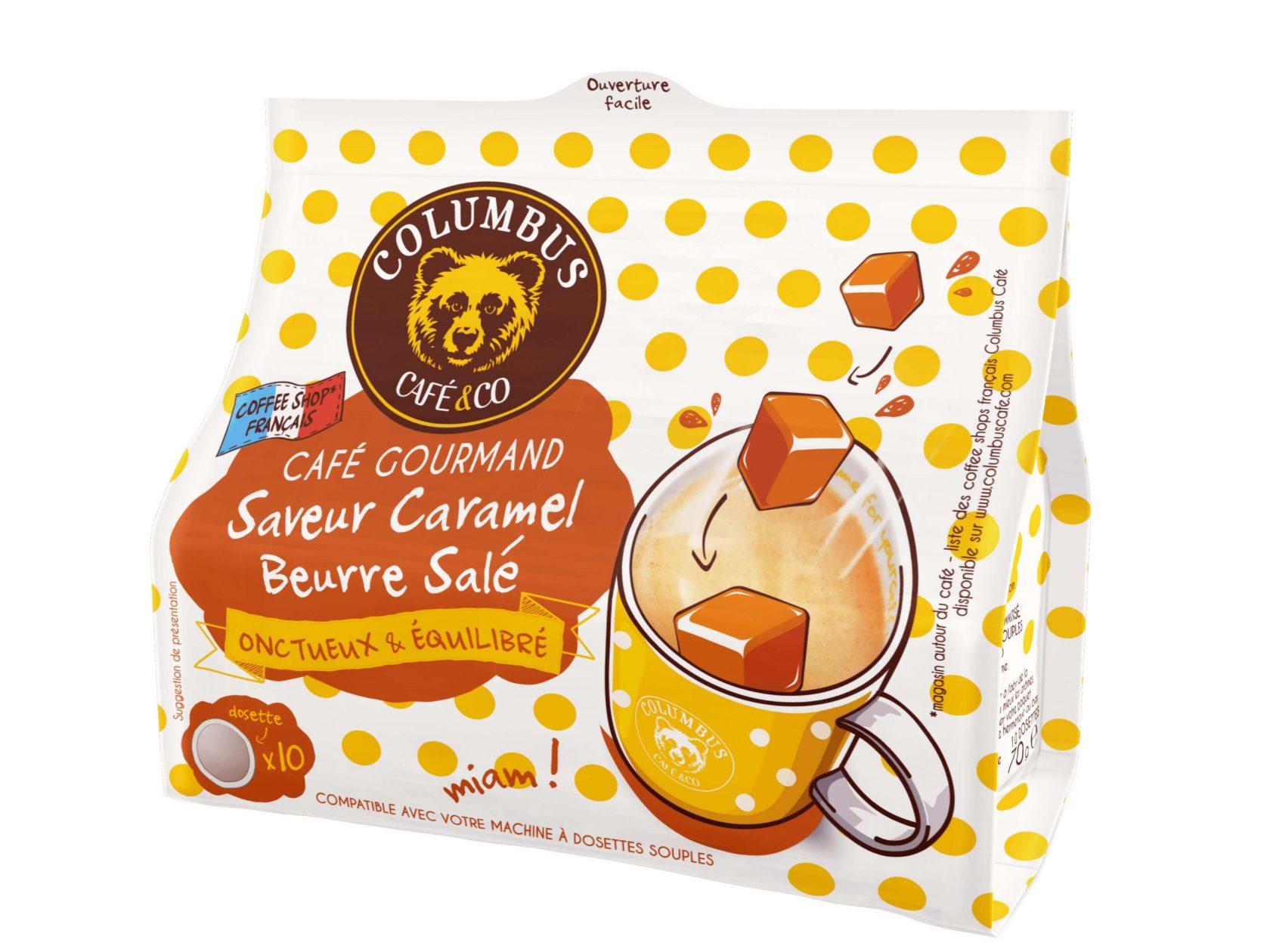 L'Espresso saveur Caramel Beurre Salé Senseo® x 10
