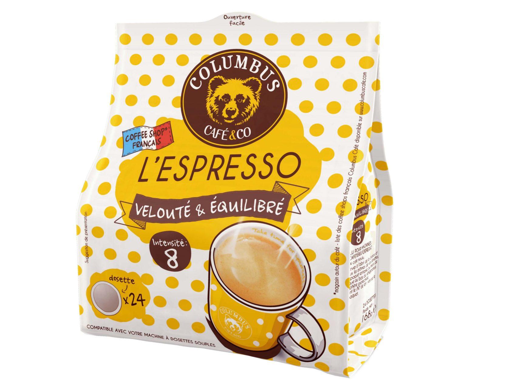 Le lot de 10 sachets Espresso Barista Blend® + 1 sachet OFFERT Espresso Vanille Macadamia - Senseo®