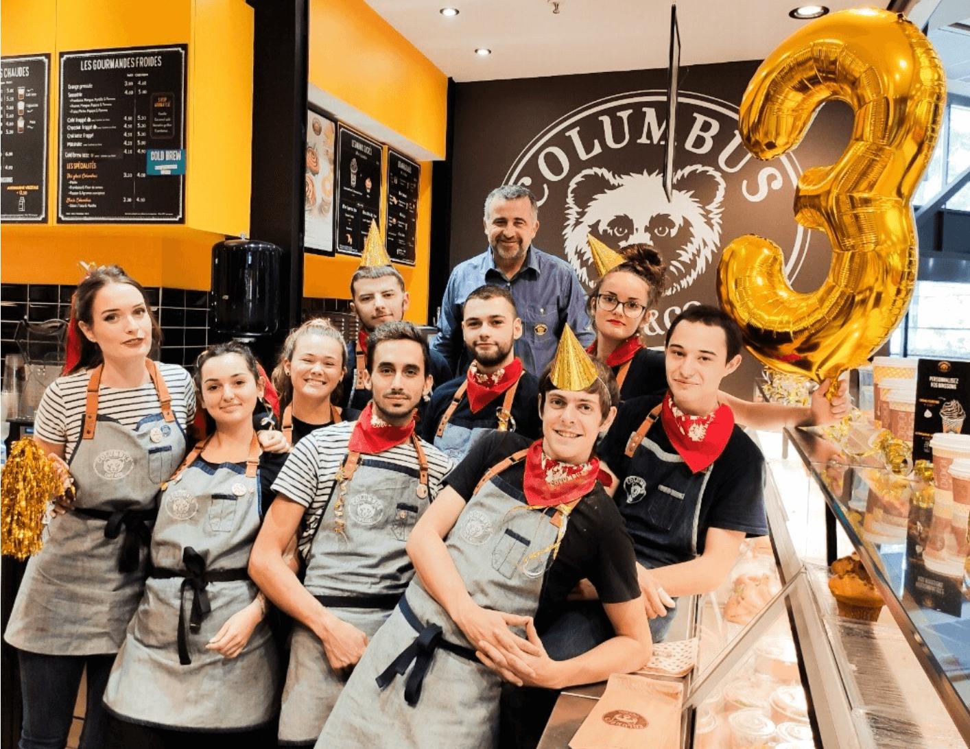 Anthony, Columbus Café & Co Bordeaux Lac & Mérignac Soleil