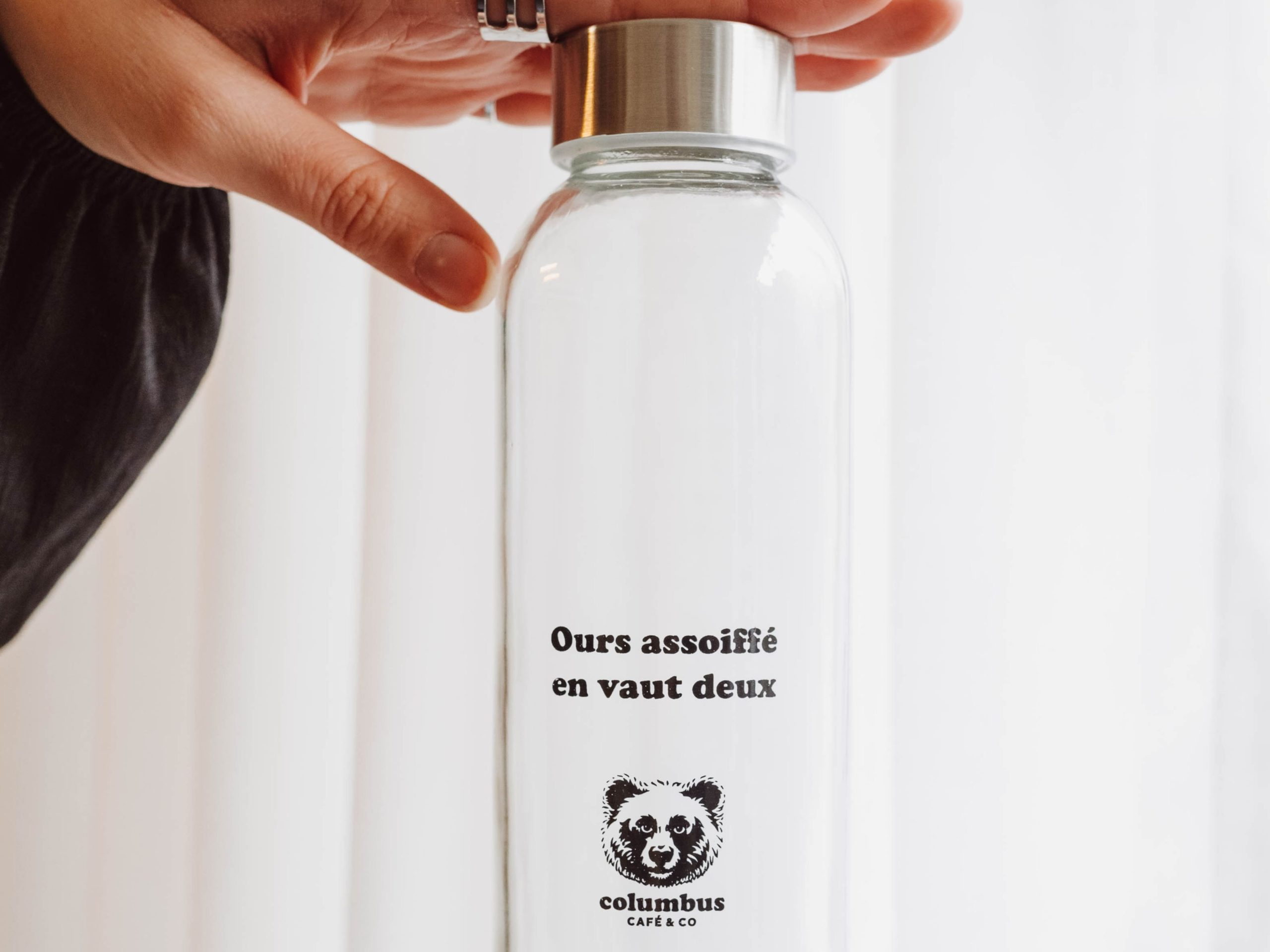 Columbus Glass Bottle – 50 cl.