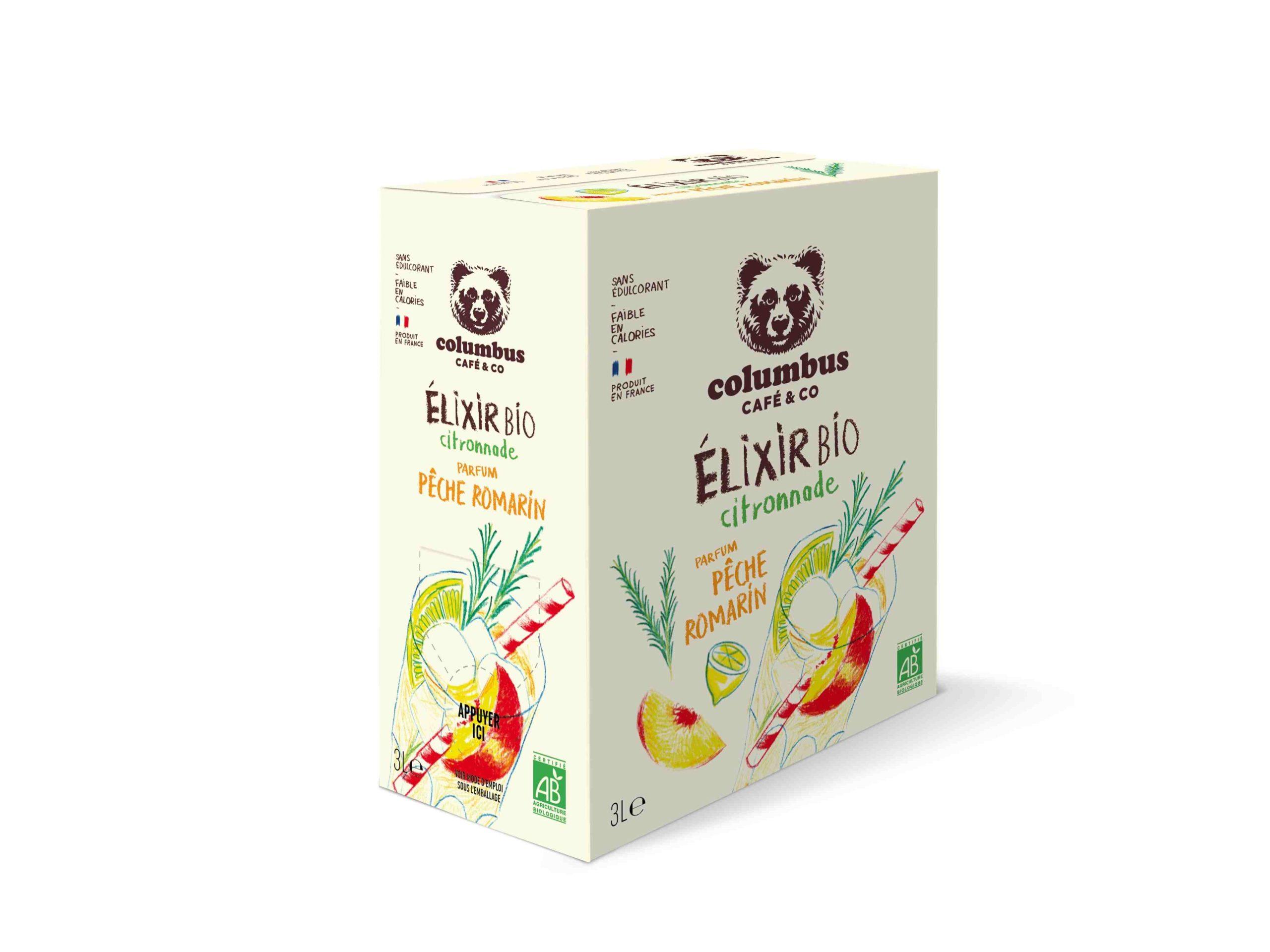 Elixir Citronnade Pêche Romarin - 3L