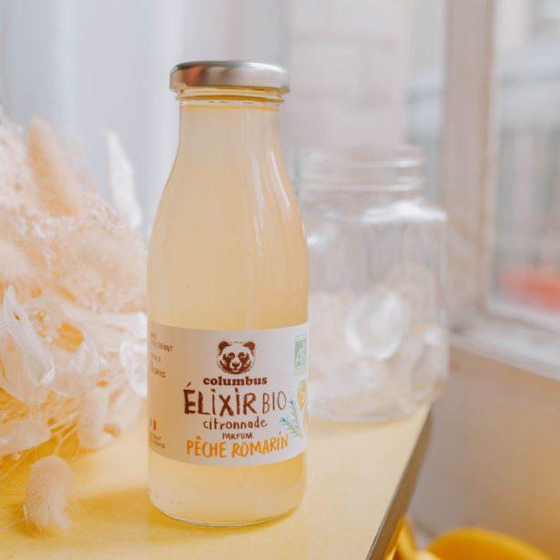 Elixir Citron, Pêche et Romarin