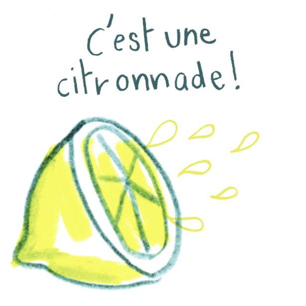 C'est une citronnade