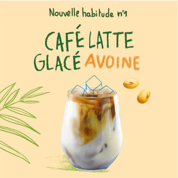 Café Latte Glacé Avoine
