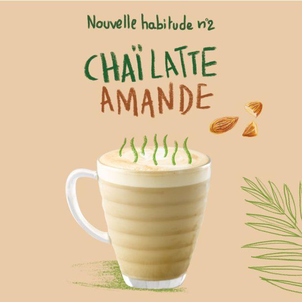 Chaï Latte Amande