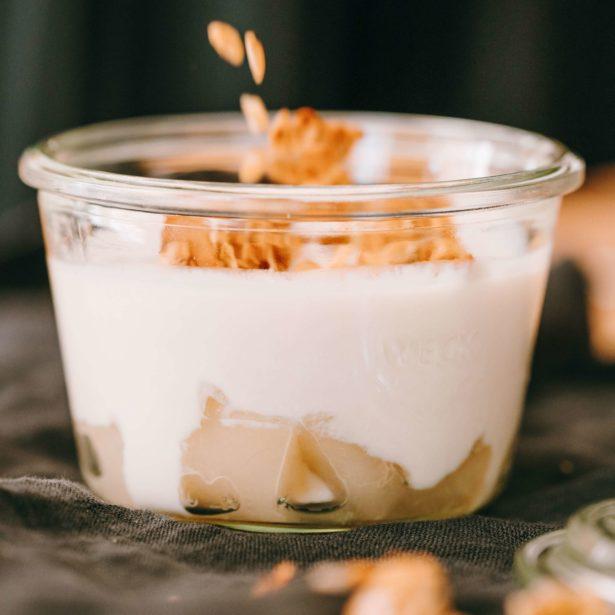 DESSERT POT Coco Poire Granola (sans lactose)